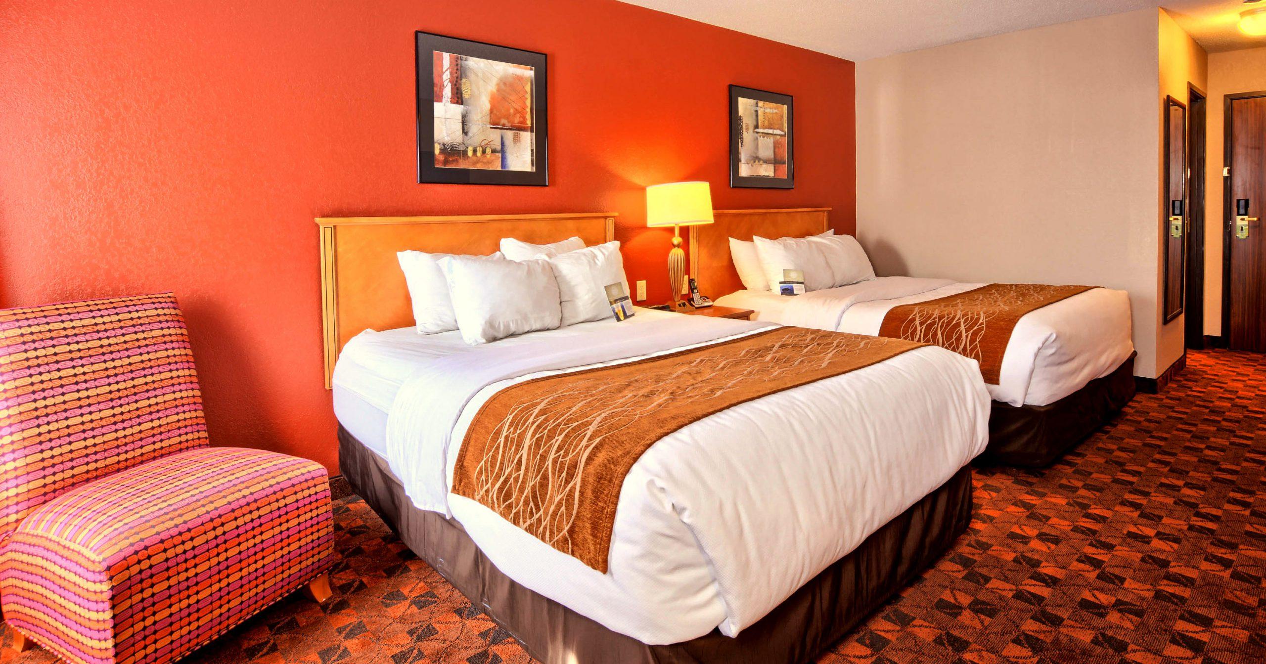 Standard Double Queen - Bed